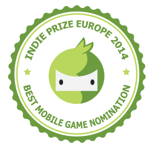 IndiePrize 2014 - Best Mobile Game Nomination